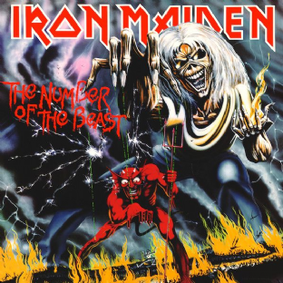 Iron Maiden ‎- The Number Of The Beast (LP) (180g Vinyl) (M/M) (Sealed)